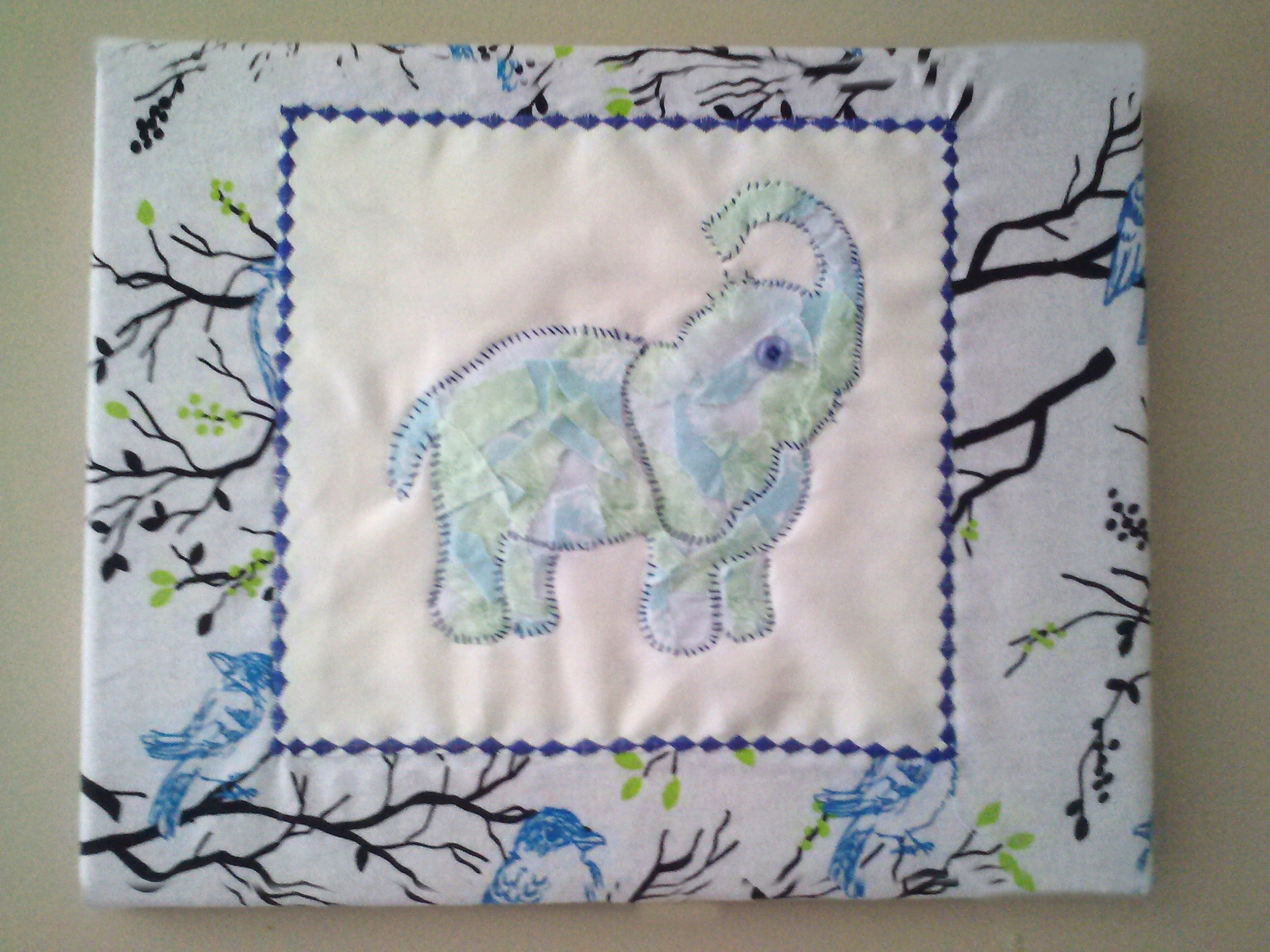 Diy Wall Art For Nursery: Fabric Covered Canvas | Christian Mom Values For Most Recent Fabric Wall Art For Nursery (Gallery 4 of 15)