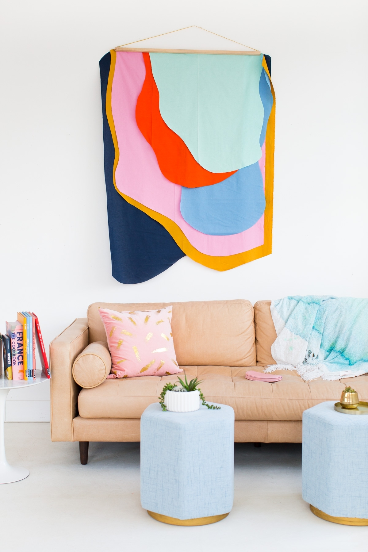 Diy Wall Art Gallery | Craftgawker With Regard To Latest Modern Fabric Wall Art (View 3 of 15)