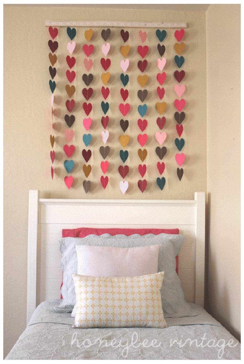 Diy Wall Decor Ideas For Bedroom Brilliant Diy Indigo Wall Art For Most Recently Released Bedroom Fabric Wall Art (View 11 of 15)