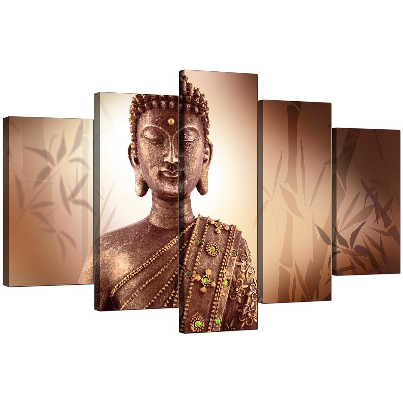 Download Buddha Canvas Wall Art | Himalayantrexplorers Pertaining To Most Current Ethnic Canvas Wall Art (View 7 of 15)