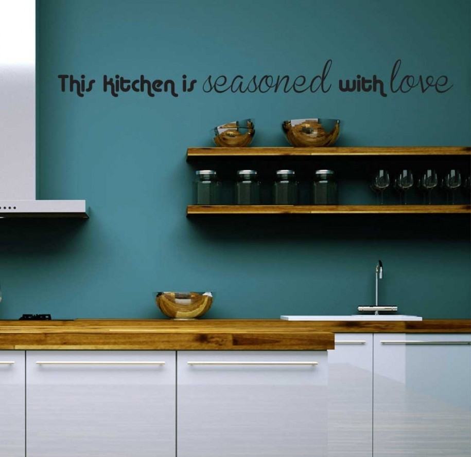 Easy Diy Kitchen Wall Decor Ideas Countertops & Backsplash Kitchen With Current Wall Accents For Kitchen (View 5 of 15)