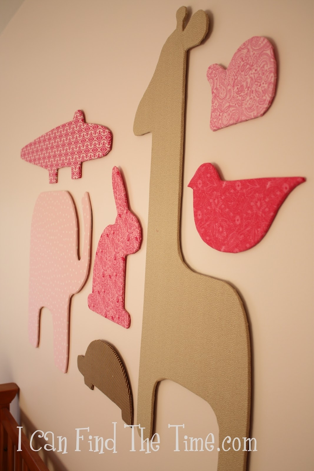 Easy Fabric Silhouette Wall Art Within Most Current Fabric Animal Silhouette Wall Art (Gallery 1 of 15)