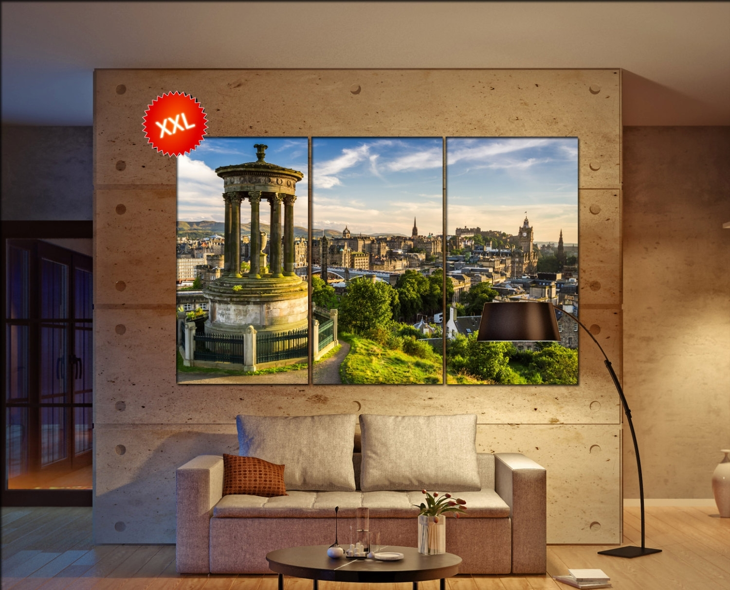 Edinburgh Canvas Wall Art Edinburgh Wall Decoration Edinburgh With Latest Edinburgh Canvas Prints Wall Art (View 3 of 15)