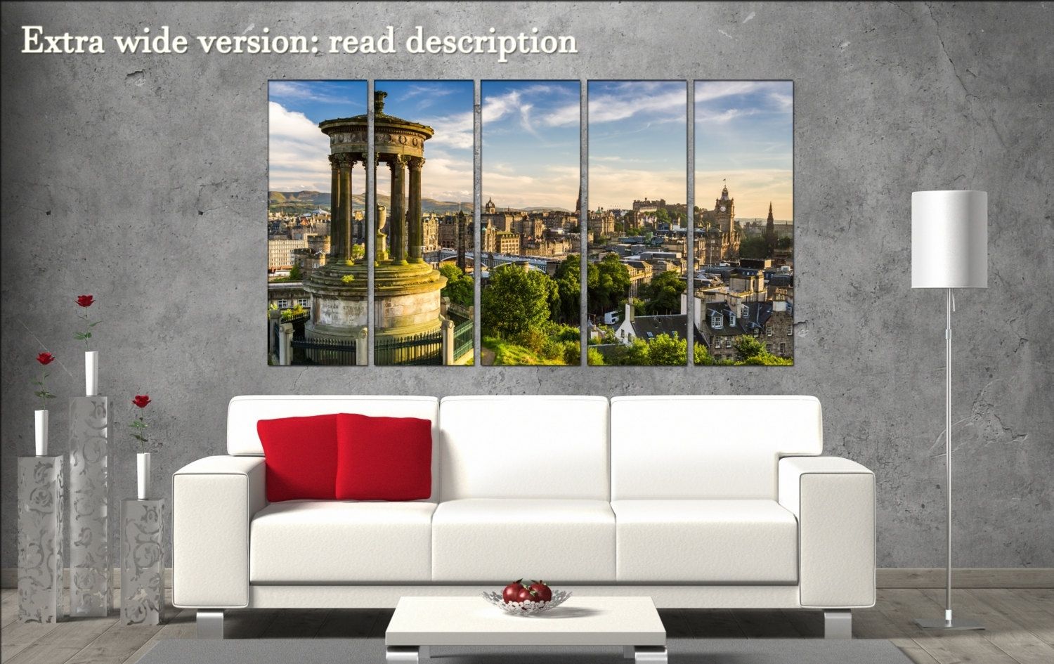 Edinburgh Canvas Wall Art Edinburgh Wall Decoration Edinburgh With Most Up To Date Edinburgh Canvas Prints Wall Art (View 4 of 15)