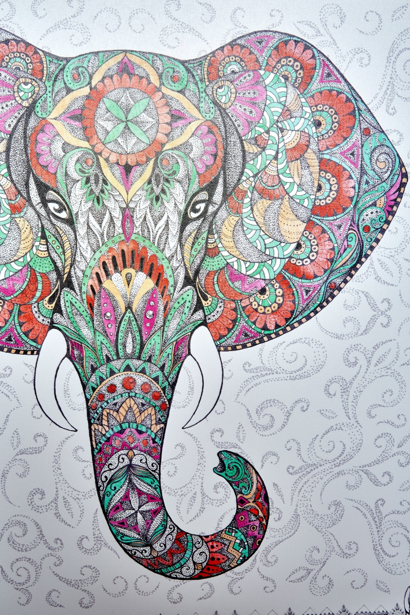 Elephant Mandala Canvas Art | Fly Things | Pinterest | Mandala In Most Popular Earthbound Canvas Wall Art (View 7 of 15)