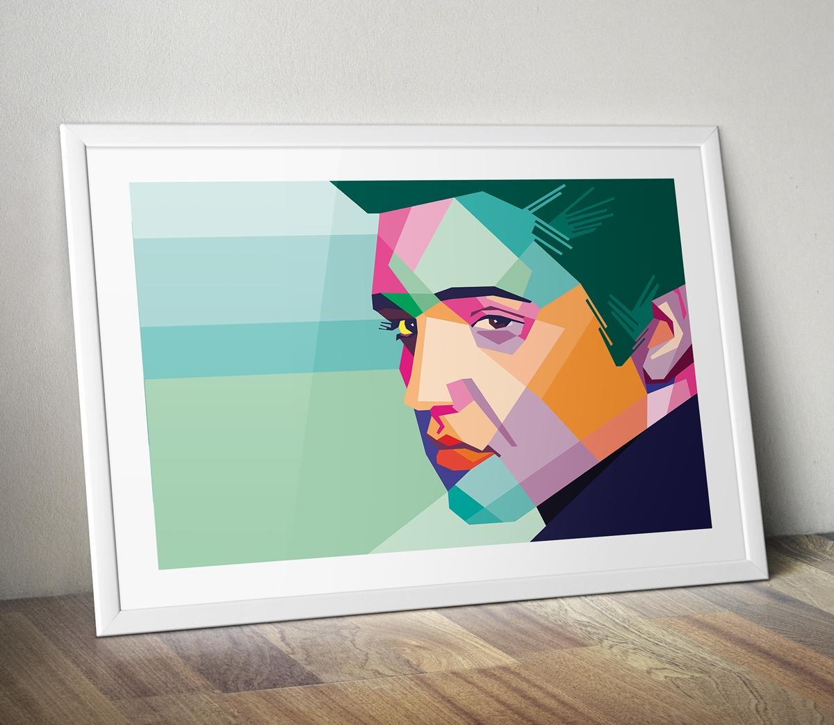 Elvis Pop Art Canvas Print | Pop Art Gifts | Pop Art Shop | Hand Pertaining To Recent Portrait Canvas Wall Art (View 9 of 15)