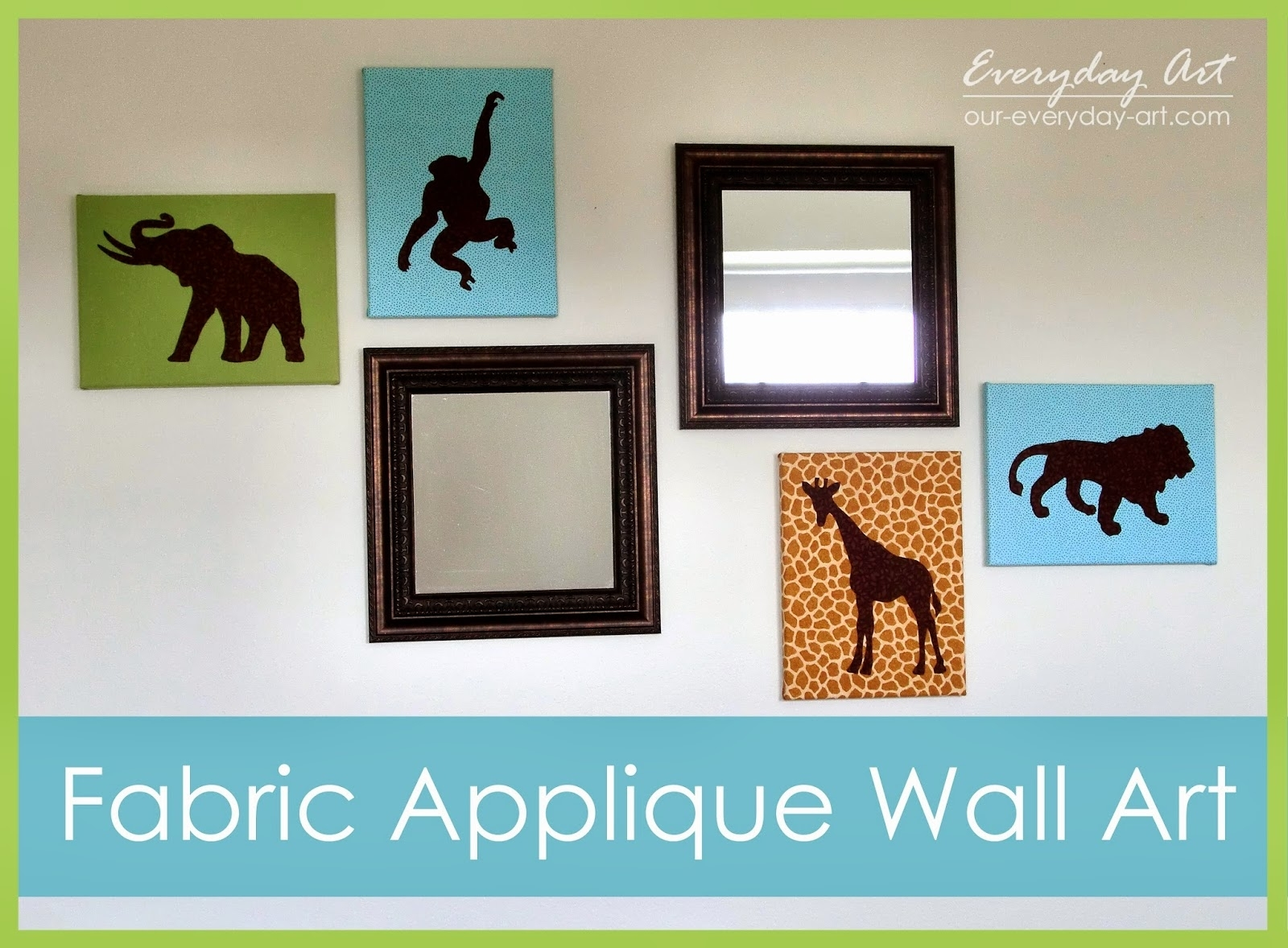 Everyday Art: Fabric Applique Wall Art For Recent Fabric Applique Wall Art (View 9 of 15)