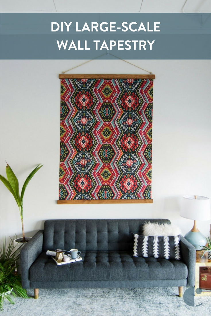 Everything You Ever Wanted To Know About Fabric + An Easy Project Throughout Current Diy Large Fabric Wall Art (View 7 of 15)
