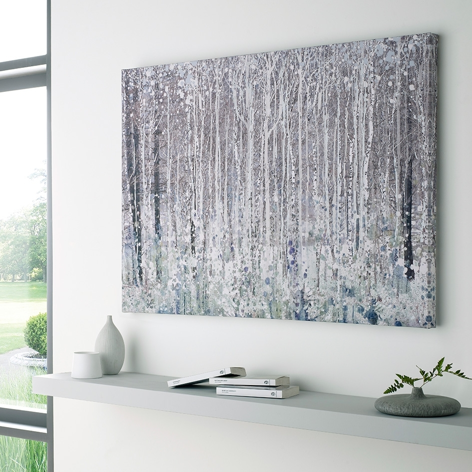 Expert Design Tips For Hanging Wall Art In The Home Throughout 2018 Homebase Canvas Wall Art (View 1 of 15)