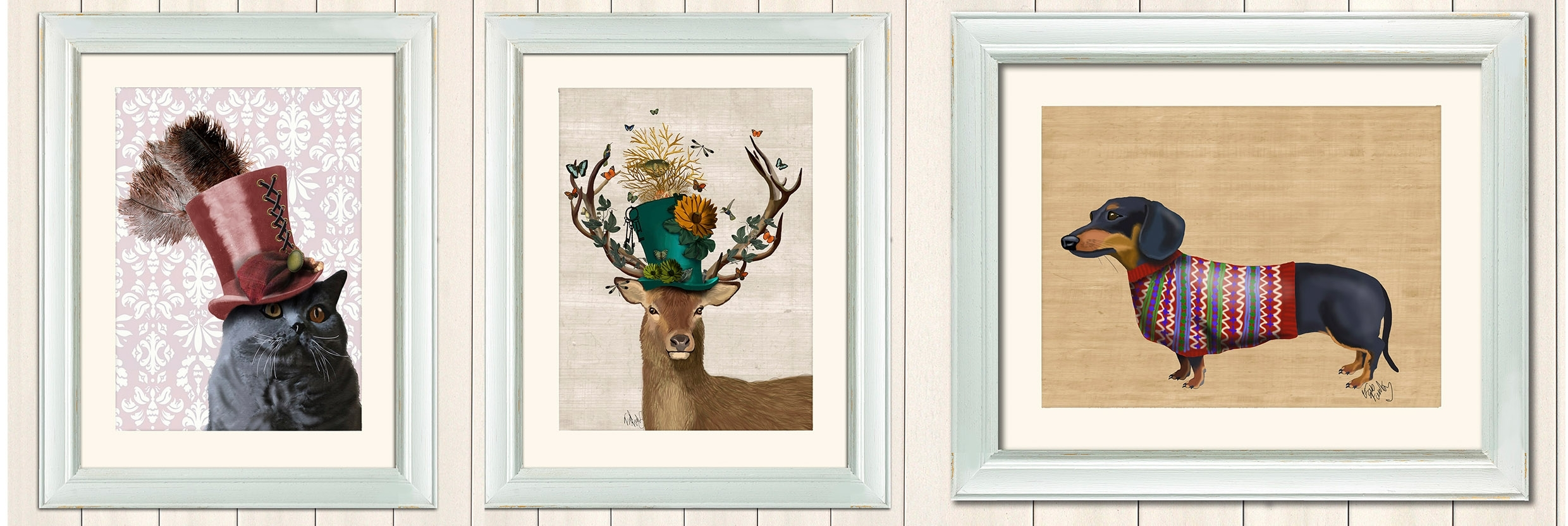 Fab Funky Art Prints From Achica | Bright Group International With Regard To 2017 Funky Art Framed Prints (View 3 of 15)