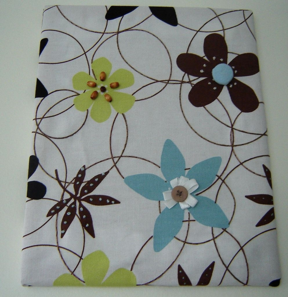 Fabric Panel Wall Art With Embellishments: 8 Steps (With Pictures) In 2017 Fabric Panel Wall Art With Embellishments (View 1 of 15)