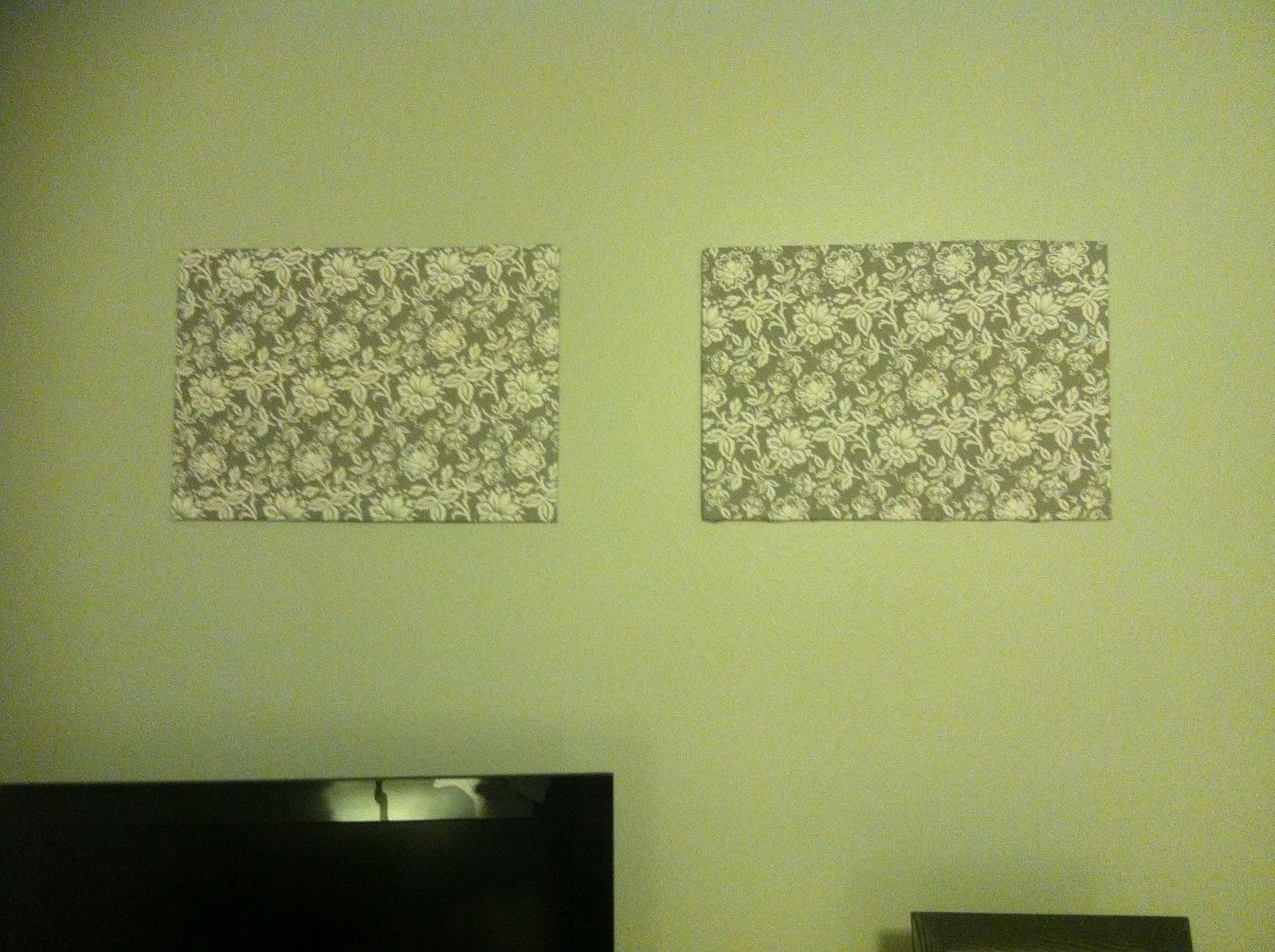 Fabric Wall Art Foam Board - Supertechcrowntower pertaining to Current Foam Board Fabric Wall Art