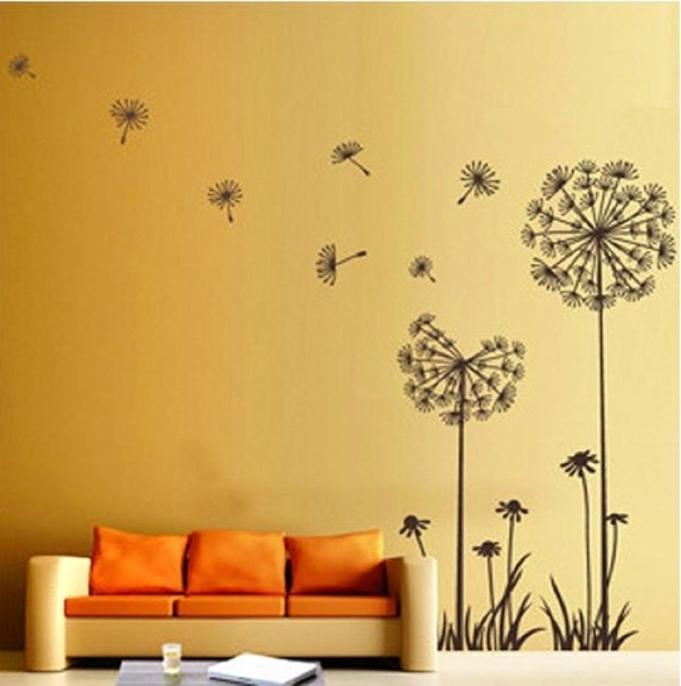 Fantastic Floral Wall Decorations Ideas – The Wall Art Decorations With Regard To Most Recently Released Flowers Wall Accents (View 7 of 15)