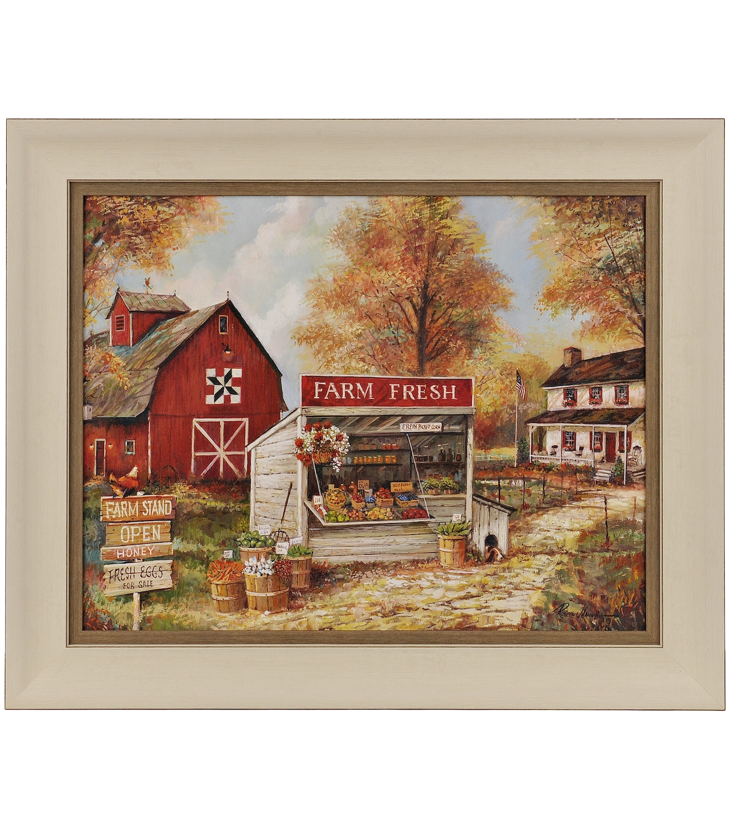 Farm Stand Framed Art Print | Farm Stand, Farming And Barn Pertaining To 2018 Affordable Framed Art Prints (Gallery 5 of 15)