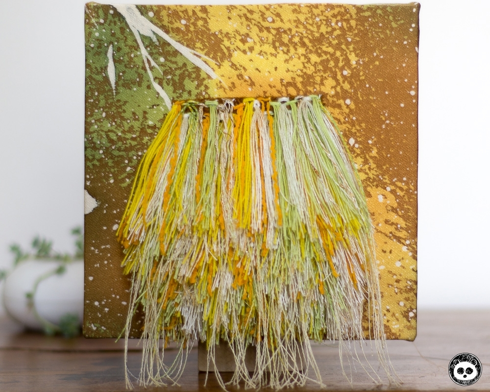 Fibre Art Wall Hangings On Kimono Fabric 02 | Labry Studio intended for Recent Fabric Wall Hangings Art