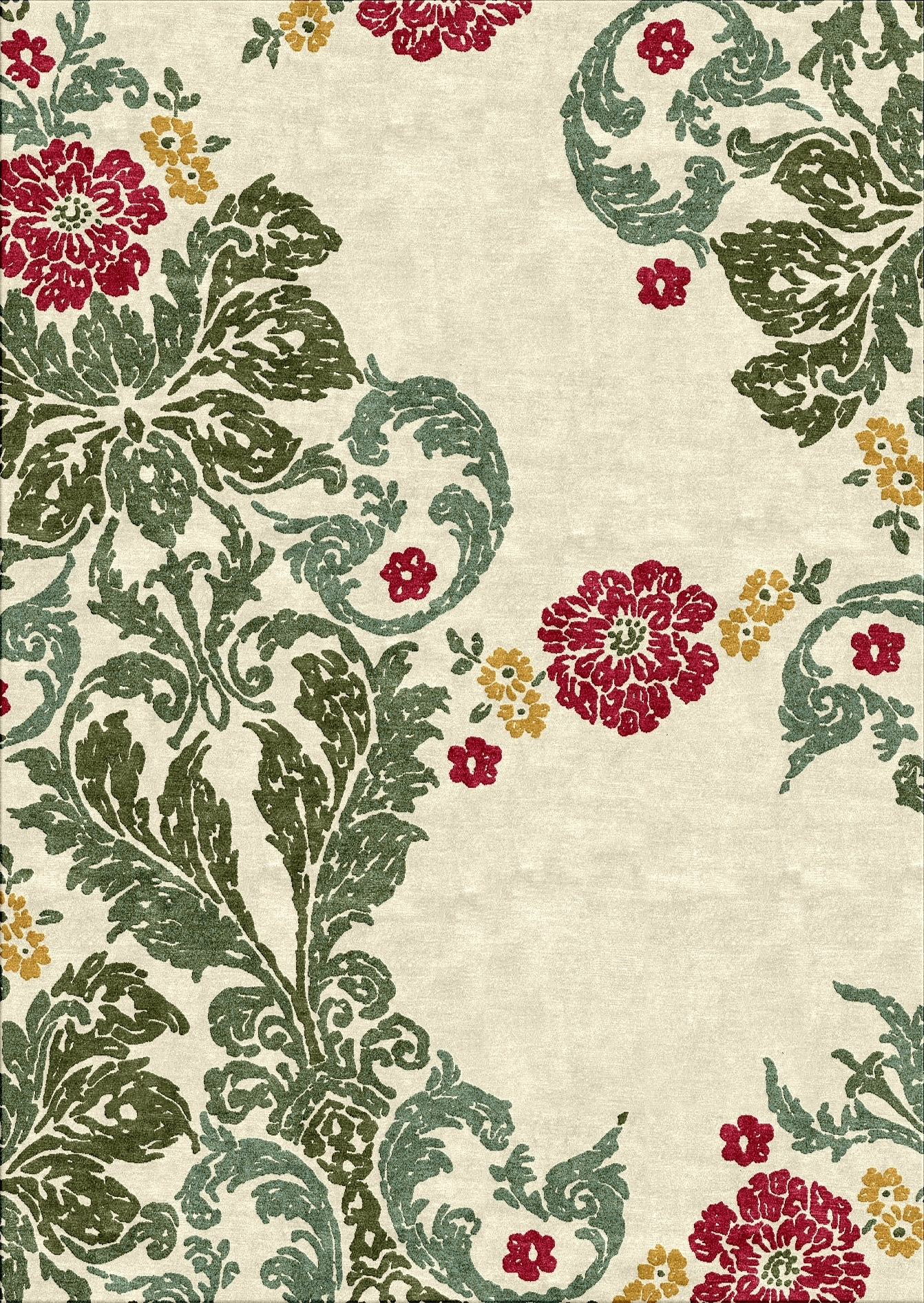 Florentine Tapestryflorence Broadhurst For Cadrys | Florentine Intended For Most Recently Released Florence Broadhurst Fabric Wall Art (View 14 of 15)