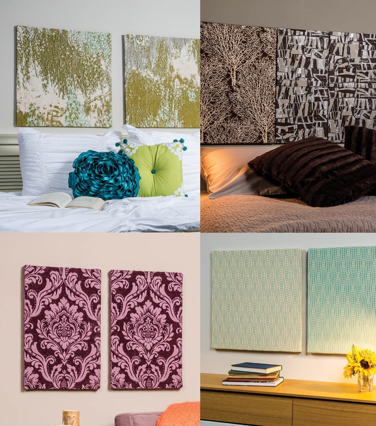 Foamology 101: Tips And Tricks For Wrapping Tiles And Panels | Joann with regard to Most Popular Joann Fabric Wall Art