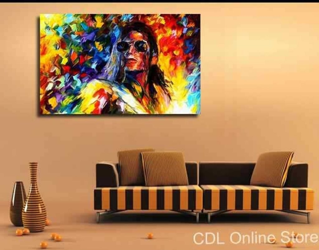 Frame Michael Jackson Canvas Painting Modern Wall Art Home In Most Current Michael Jackson Canvas Wall Art (View 3 of 15)