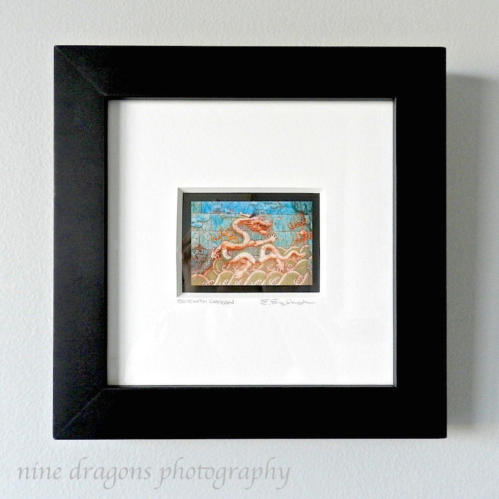Framed Art Asian Dragon Art Framed Wall Art Framed pertaining to 2017 Framed Asian Art Prints