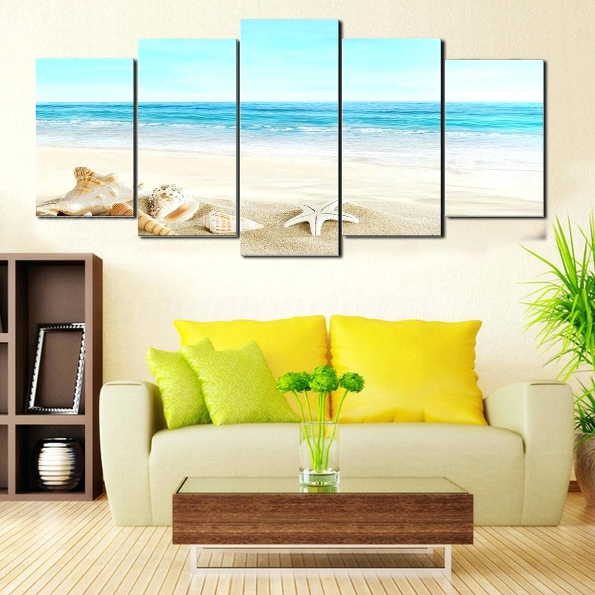 Framed Beach Art Glass Large Prints – Biophilessurf regarding Recent Framed Beach Art Prints