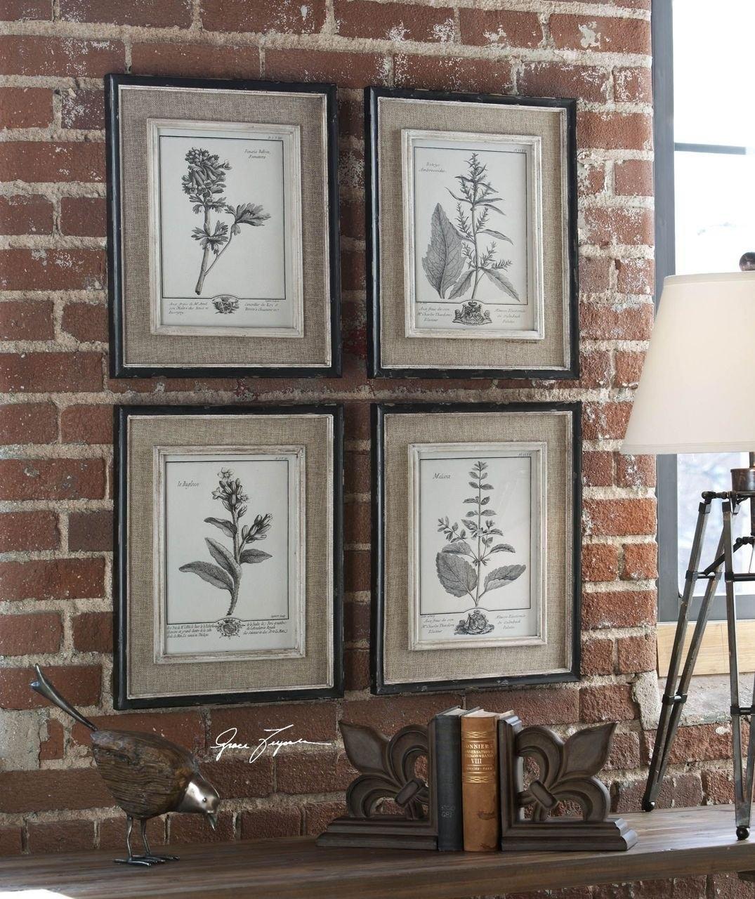 Framed Botanical Prints Home | Sorrentos Bistro Home With Recent Framed Art Prints Sets (View 6 of 15)