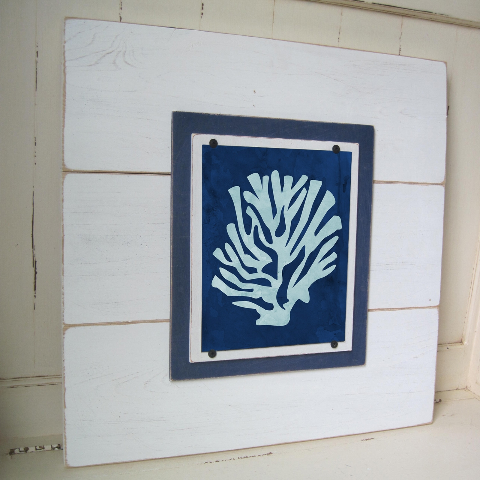 Framed Coral Print  Project Cottage Inside Most Up To Date Framed Coral Art Prints (View 6 of 15)