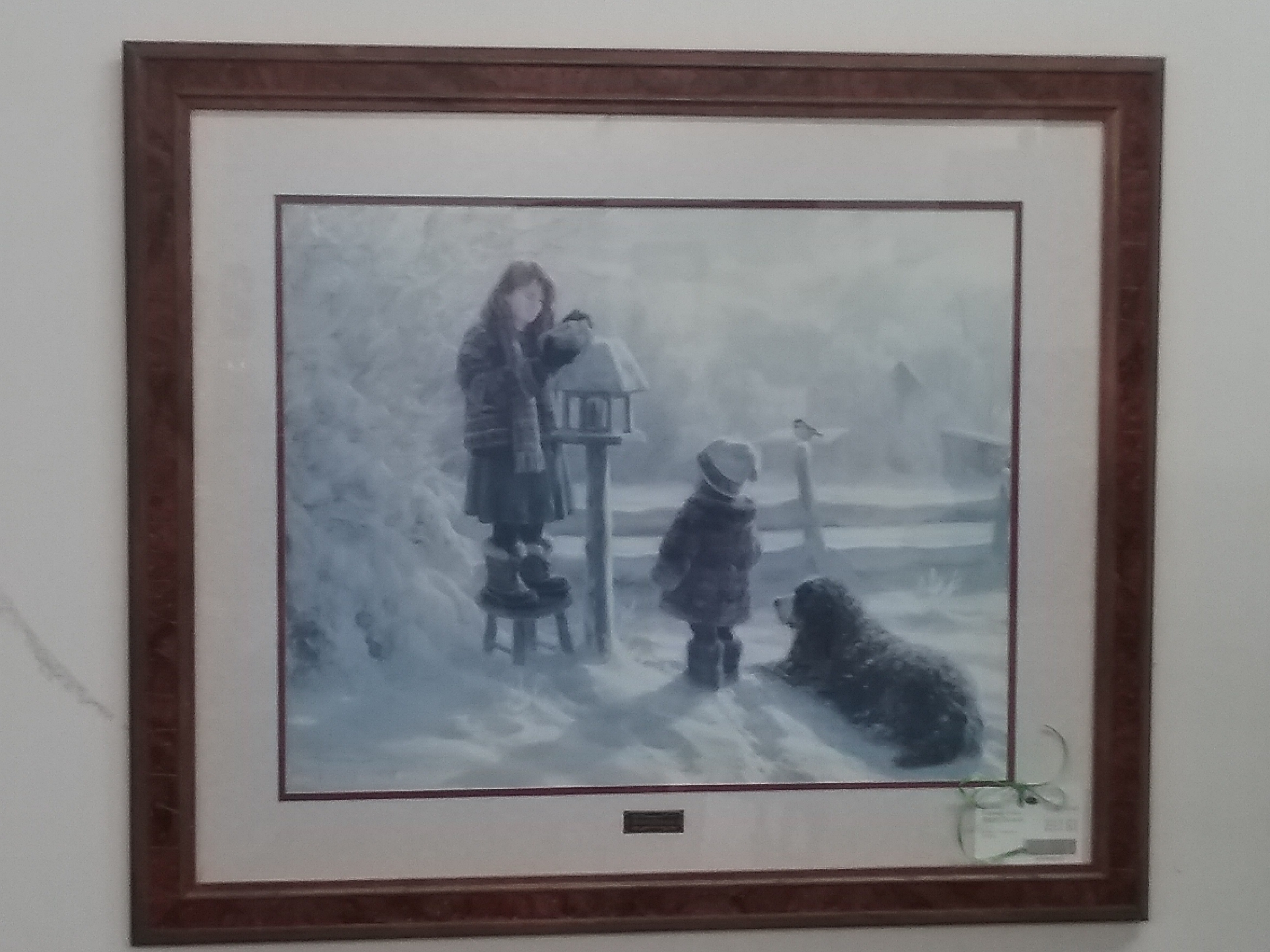 Framed Print Robert Duncan | The Millionaire's Daughter With Regard To Recent Robert Duncan Framed Art Prints (View 5 of 15)