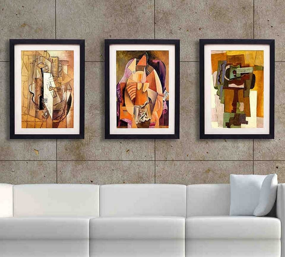 Framed Wall Art For Living Room Images With Awesome At Office regarding Most Popular Framed Art Prints For Living Room