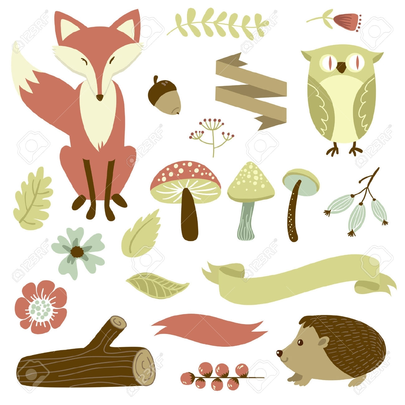 Free Printable Forest Animal Silhouettes – Google Search Pertaining To 2017 Fabric Animal Silhouette Wall Art (Gallery 14 of 15)