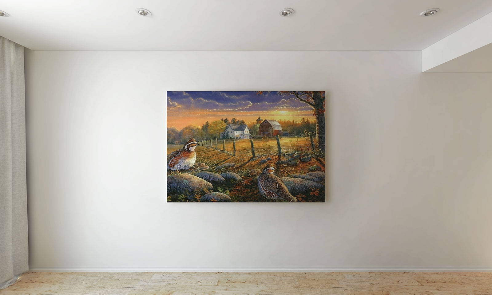 Free Wall Painting Canvas / Photo Frame Mockup Psd - Good Mockups regarding Current Mockup Canvas Wall Art
