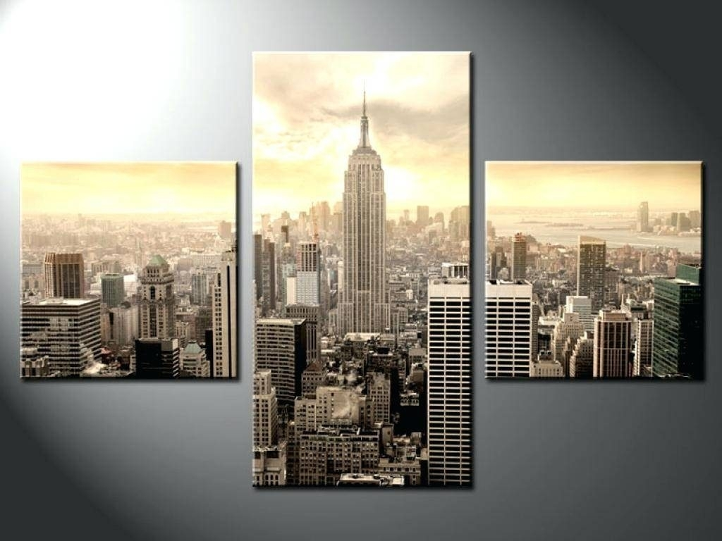 Fresh New York City Canvas Wall Art With 20 Collection Of Decor For Most Recently Released Canvas Wall Art Of New York City (View 8 of 15)