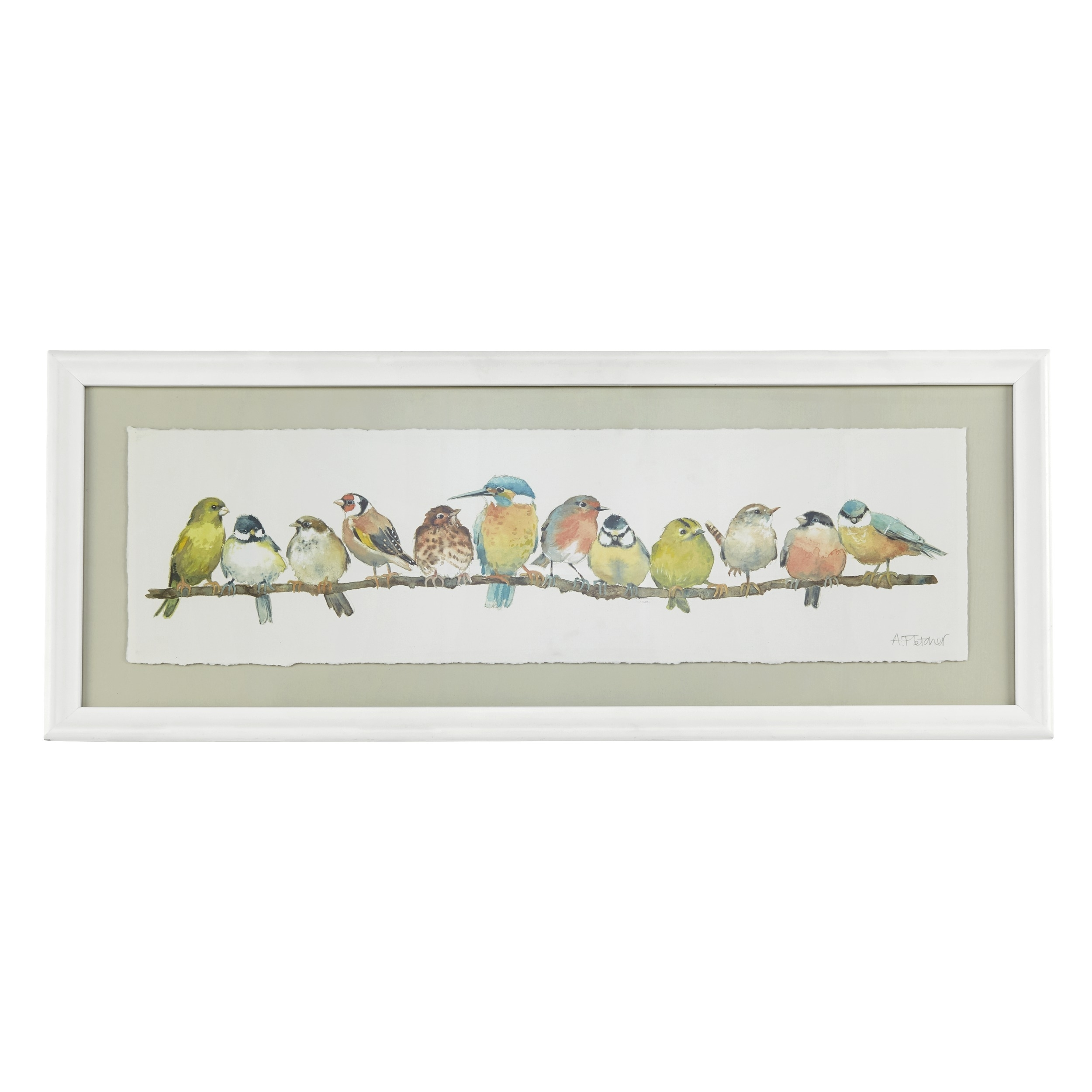 Garden Birds Framed Print At Laura Ashley | Diy Crafts | Pinterest Within Most Current Birds Framed Art Prints (Gallery 1 of 15)