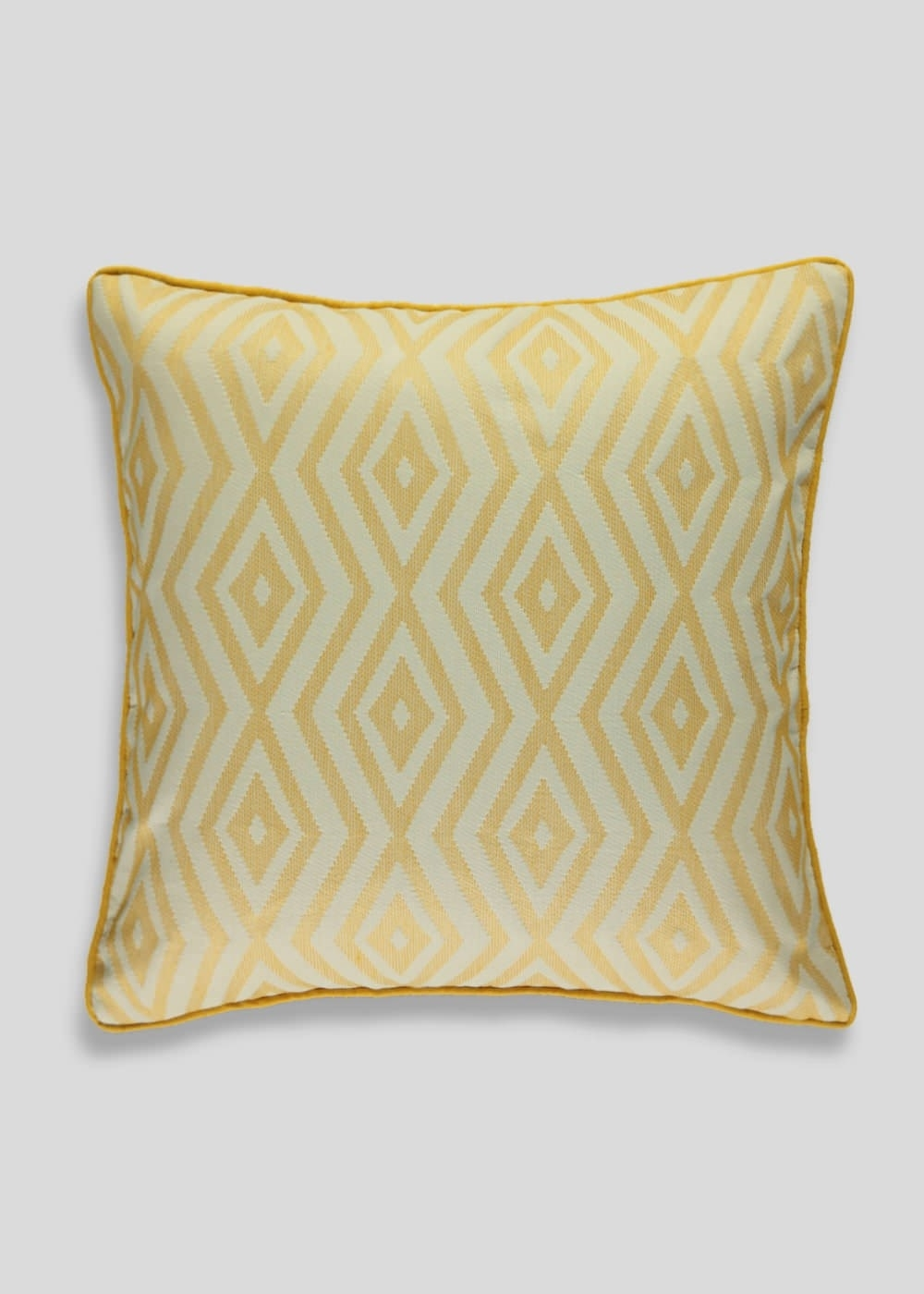 Geo Jacquard Cushion (45Cm X 45Cm) – Matalan | Home Accessories Within Most Current Matalan Canvas Wall Art (Gallery 8 of 15)