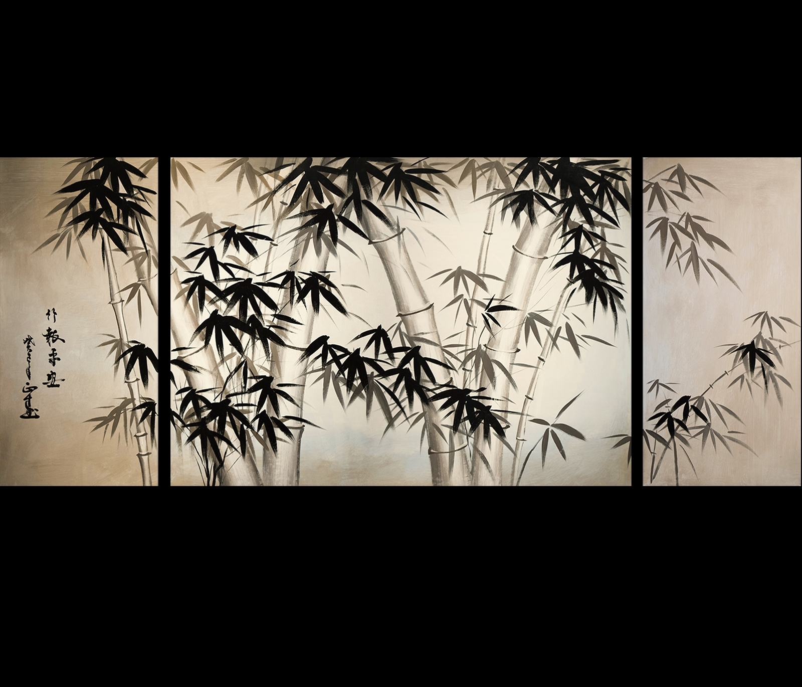 Giclee Artwork Canvas Art Fine Art Prints Wall Art Japanese Bamboo In Most Up To Date Japanese Canvas Wall Art (View 8 of 15)