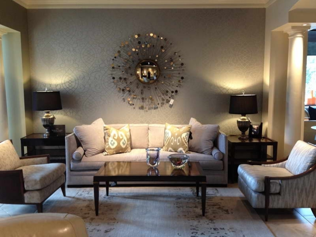 Gorgeous Wall Decorations For Living Room Ideas Inspiration Regarding Most Recent Wall Accents For Small Living Room (View 5 of 15)