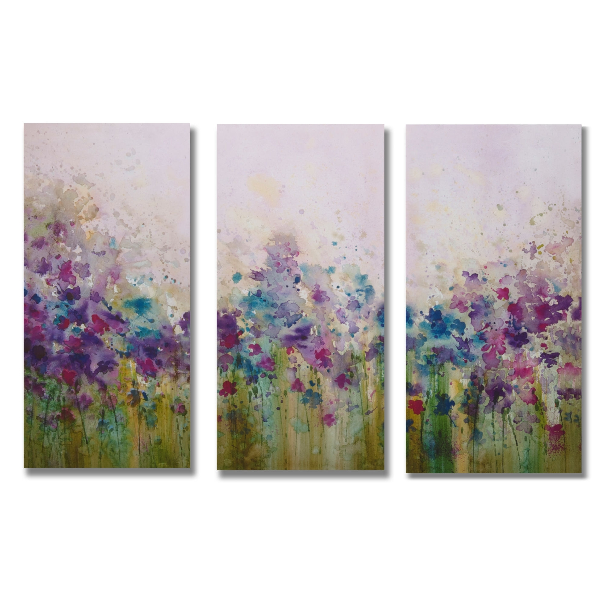 "Graham & Brown Watercolor Meadow Printed Canvas Art – 24"" X 35 In 2017 Canvas Wall Art At Wayfair (View 9 of 15)"