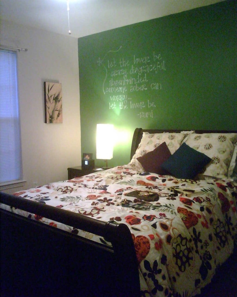 Green Bedroom Accent Wall | Dzqxh In Best And Newest Green Room Wall Accents (View 3 of 15)