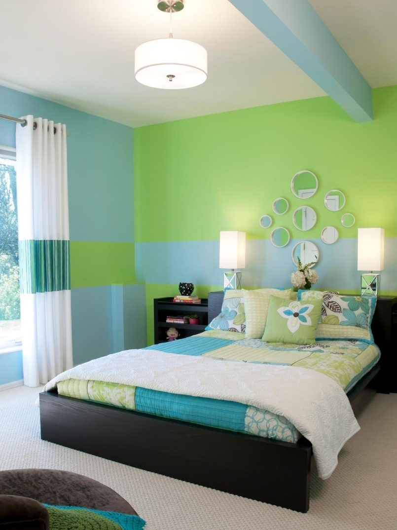 Grey Green Room Ideas Mint Green And Purple Room Ideas Decor With Regard To Recent Green Room Wall Accents (View 9 of 15)