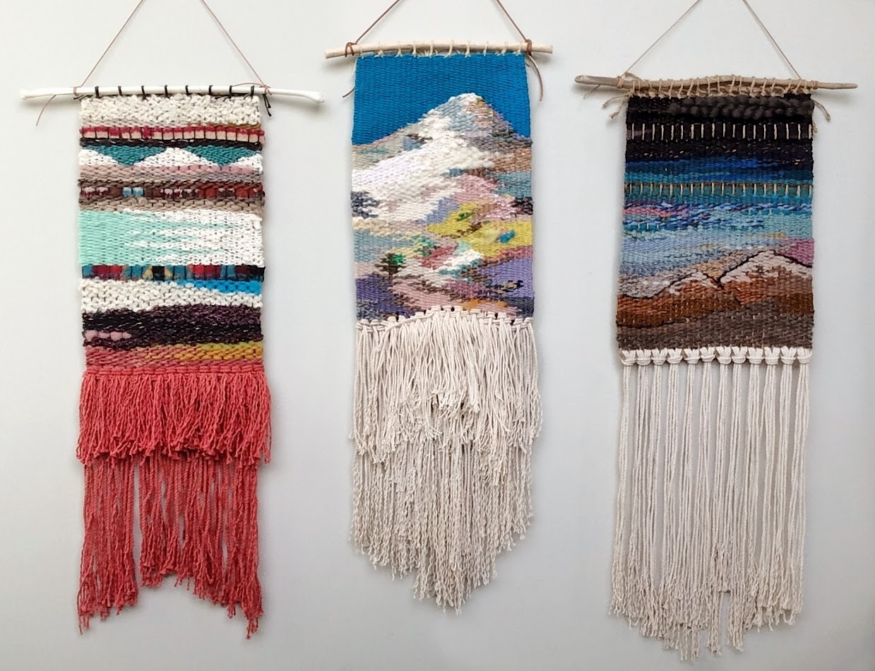Habit Of Art: My Weaving Process Within Best And Newest Woven Fabric Wall Art (View 7 of 15)