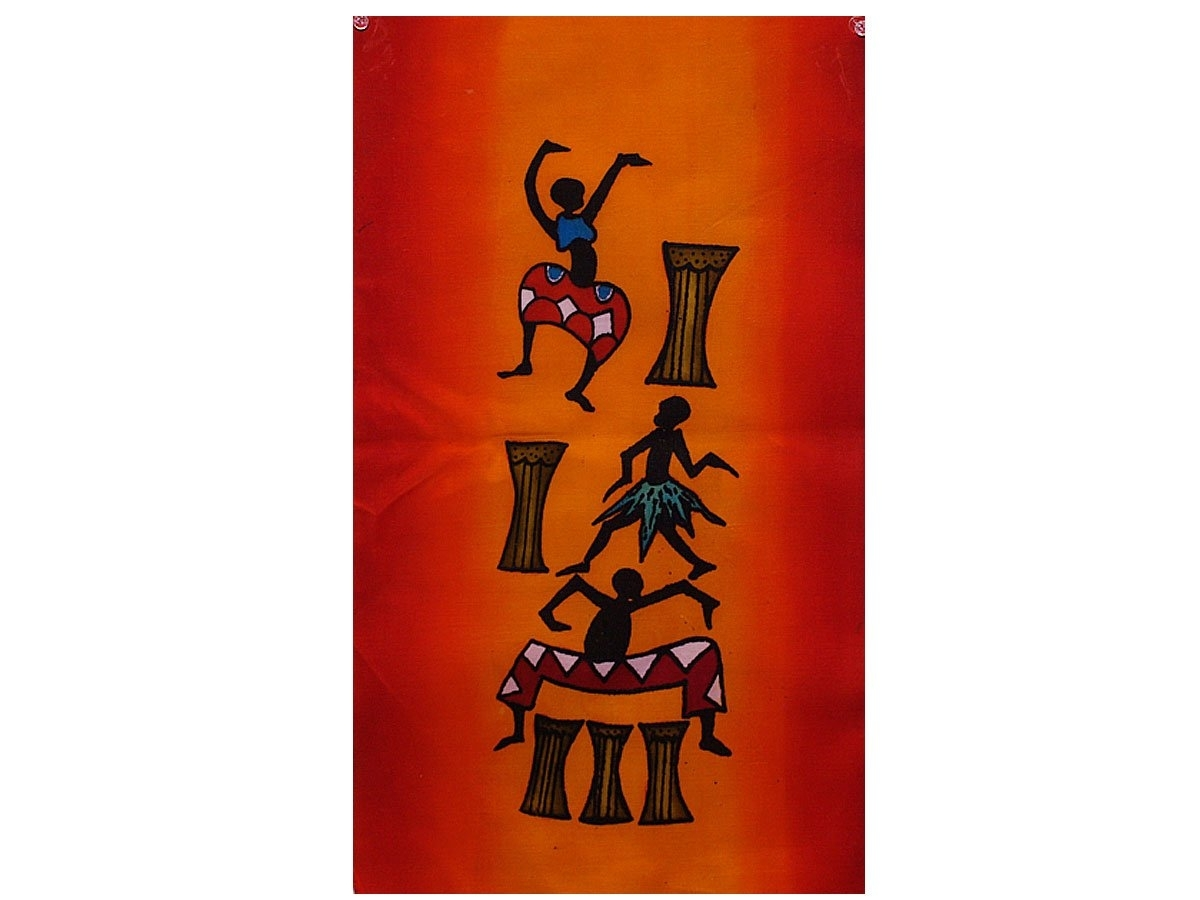 Hand Painted Wall Décor From Africa | Wall Decorations From Africa Inside Recent African Wall Accents (View 5 of 15)