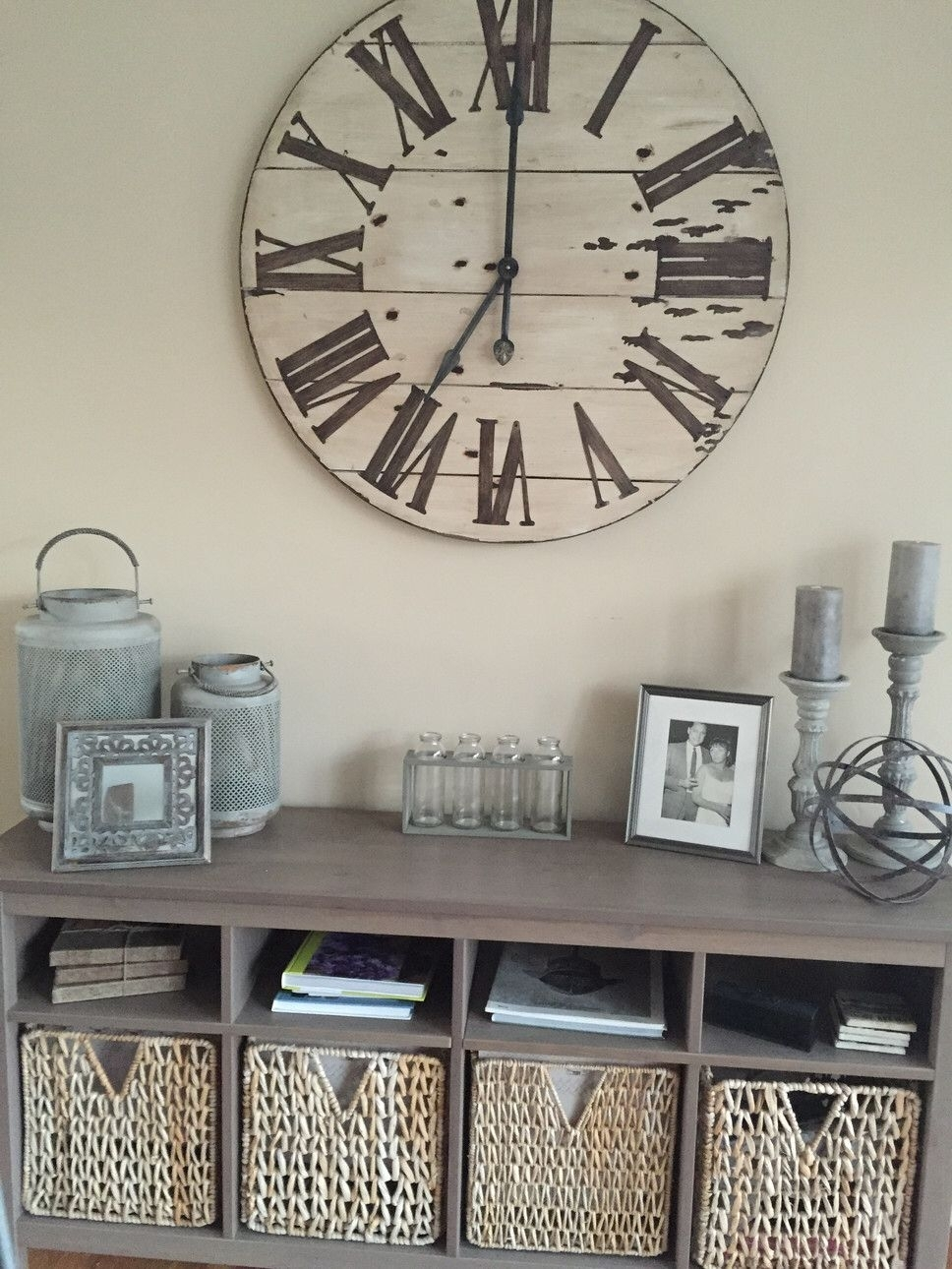 """Harrington Oversized 36"""" Wall Clock 