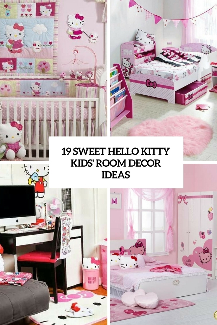 Hello Kitty Wall Decor At Home And Interior Design Ideas Inside Most Recently Released Hello Kitty Canvas Wall Art (View 10 of 15)