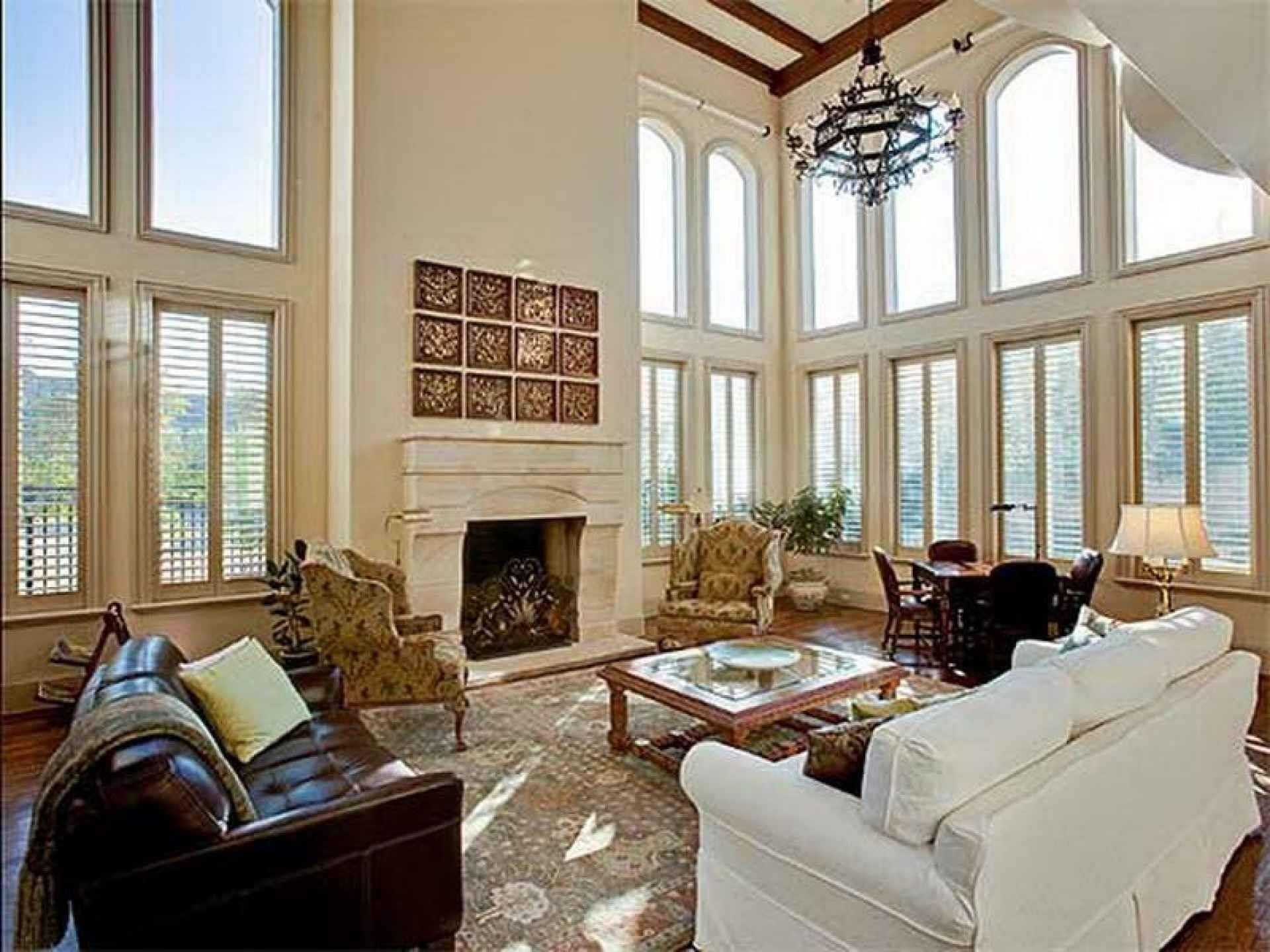 High Ceiling Family Room Decorating Ideas Dilatatori Biz ~ Loversiq With Regard To Most Popular High Ceiling Wall Accents (View 15 of 15)