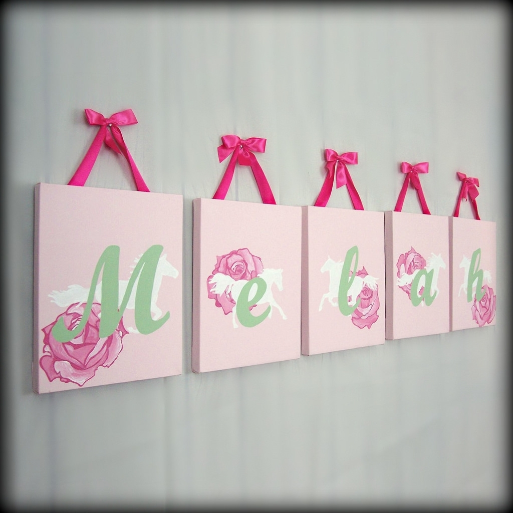Featured Photo of Baby Names Canvas Wall Art