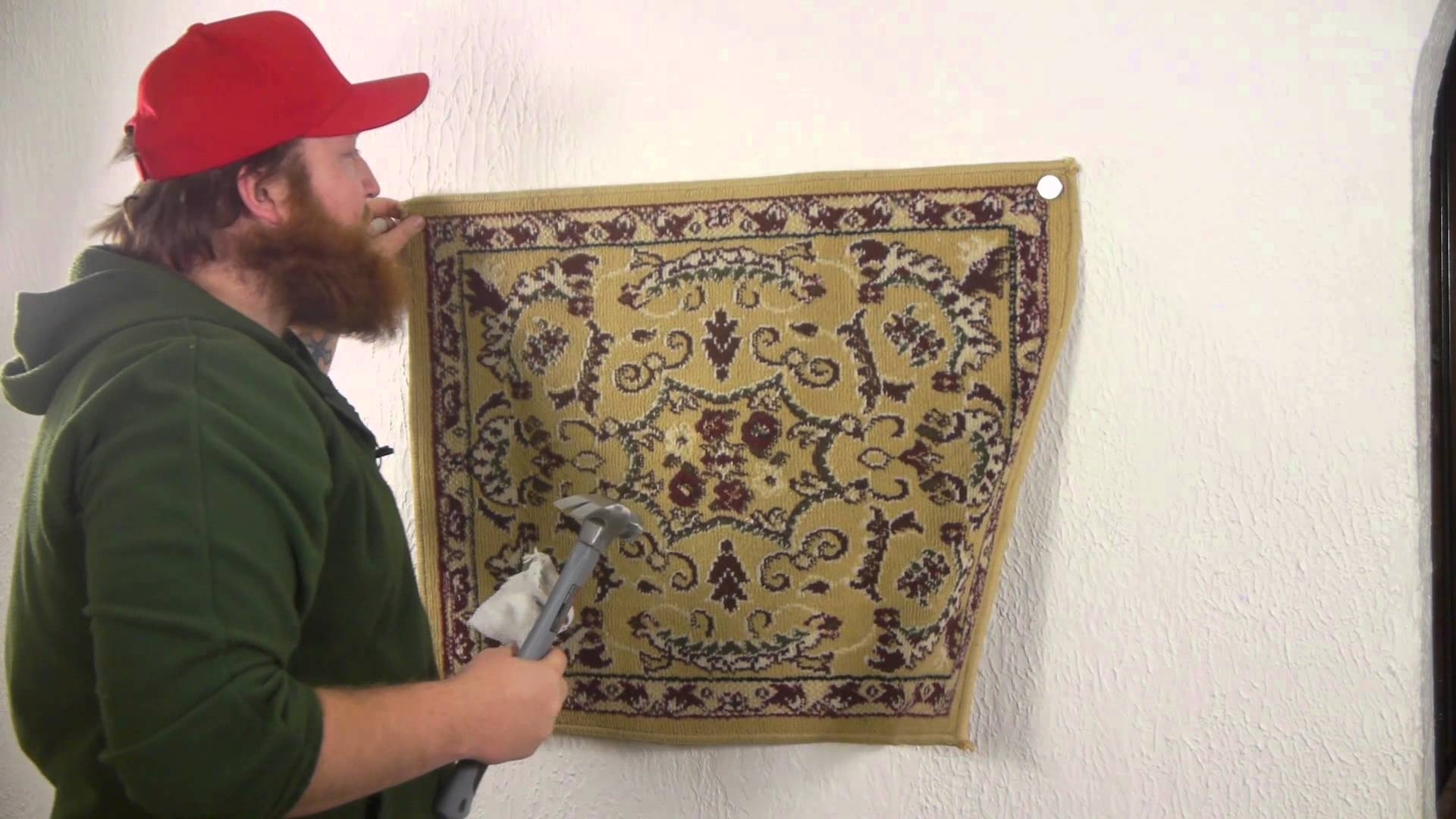 How To Attach Fabric To A Wall : Nails, Screws & Wall Hangings Inside 2017 Cloth Fabric Wall Art (View 11 of 15)