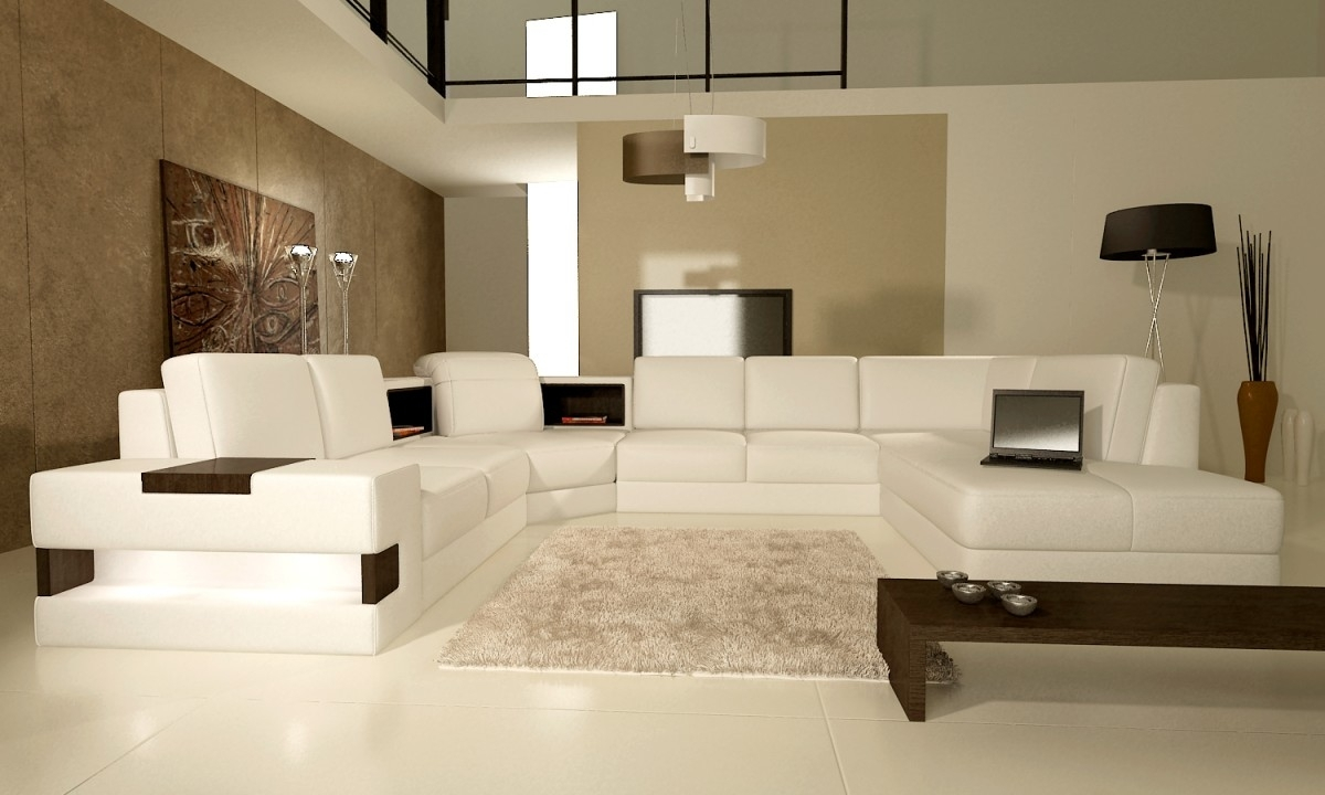 How To Blend Furniture With The Brown Colored Walls Of Your Living Pertaining To Current Neutral Color Wall Accents (View 6 of 15)
