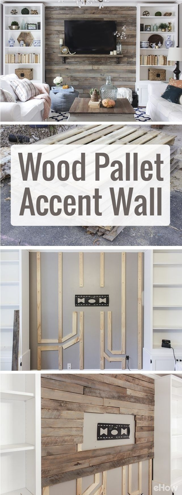 How To Build A Pallet Wall | Project Nursery, Nursery Design And For Most Current Wall Accents With Pallets (View 6 of 15)