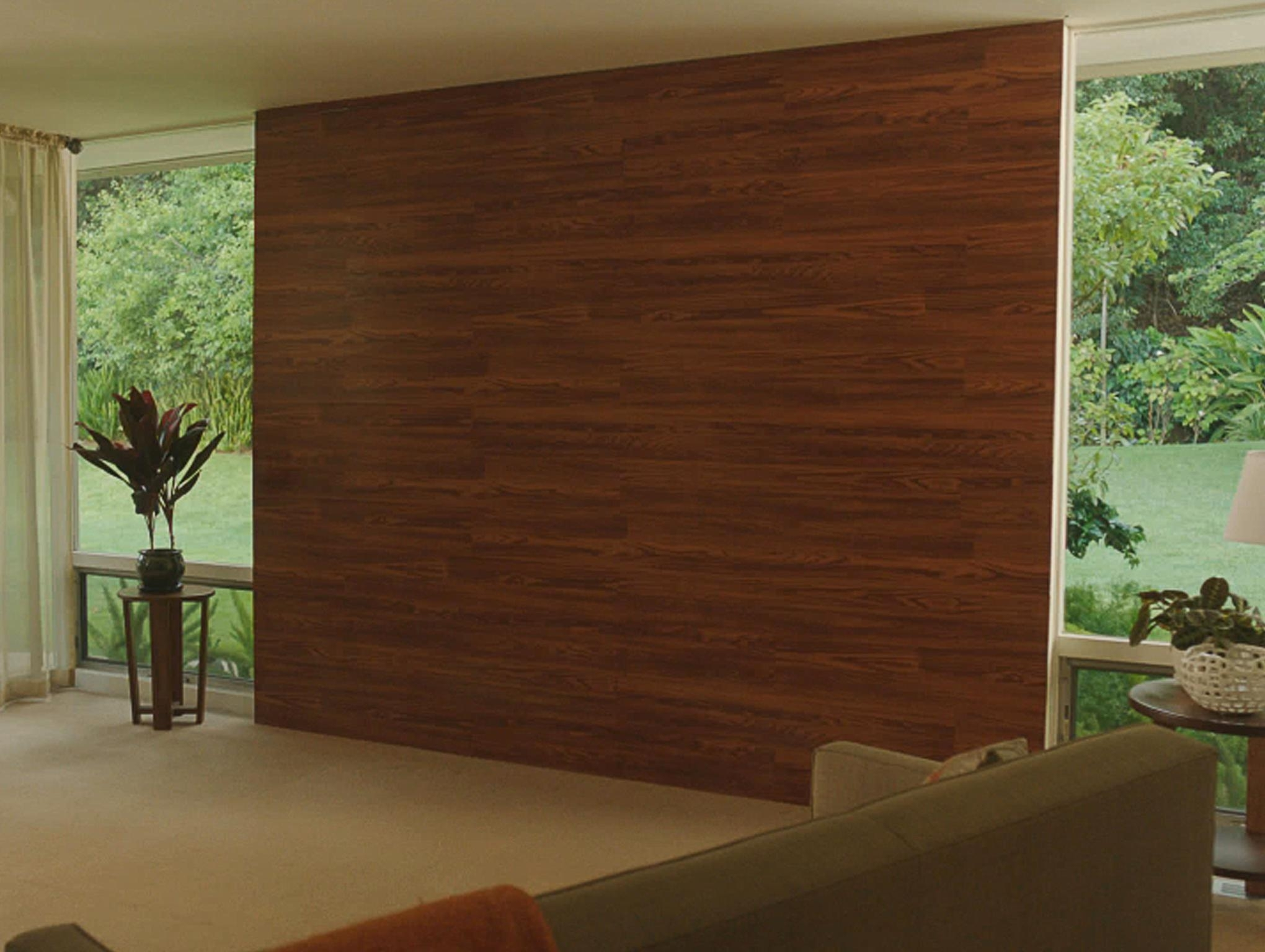 How To Build A Wall Using Laminate Flooring | The Home Depot Community Pertaining To 2017 Wall Accents With Laminate Flooring (View 3 of 15)