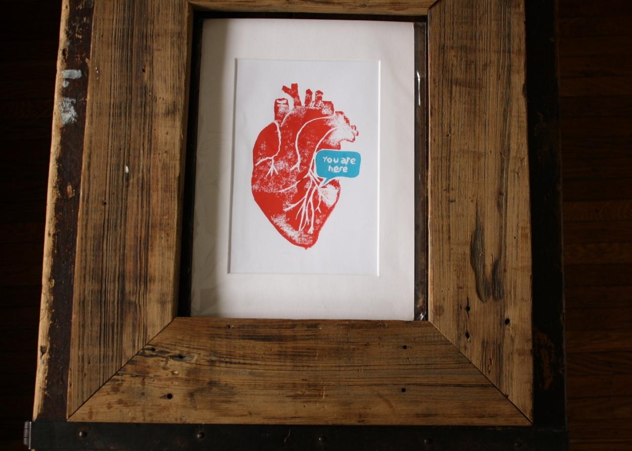 How To Cut Custom Print Mats | Diy Network Blog: Made + Remade | Diy Inside Recent Framed And Matted Art Prints (View 11 of 15)