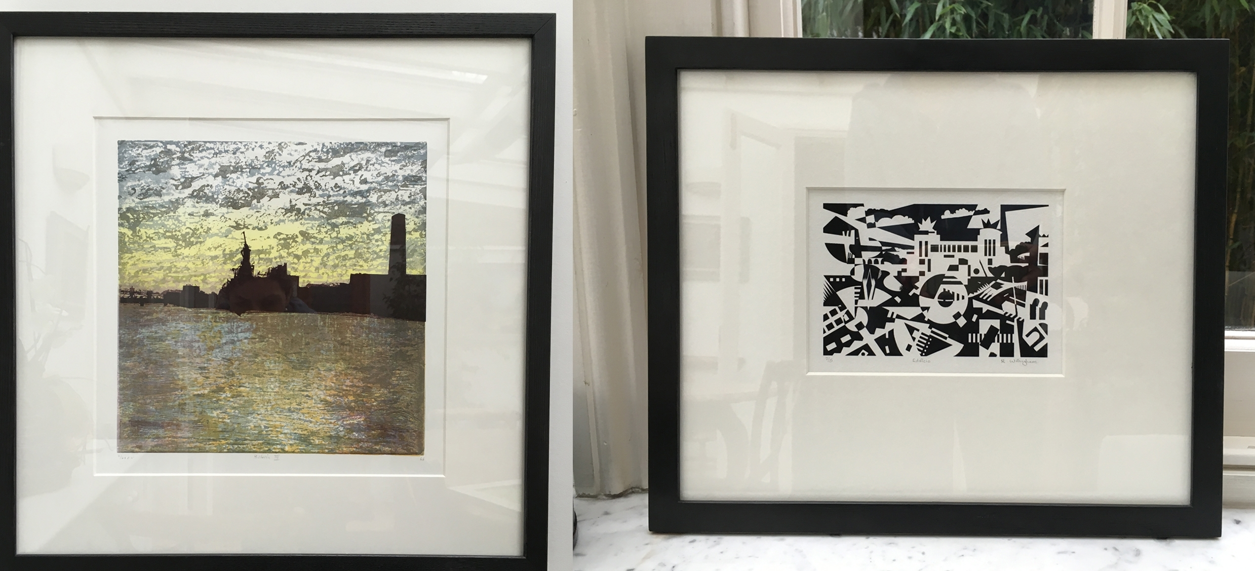 How To Frame Prints – Print Solo Intended For Current Black And White Framed Art Prints (View 8 of 15)